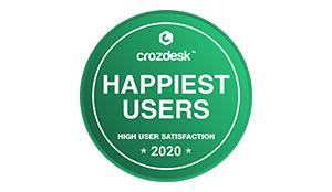 Cozdesk Happiest Users Award