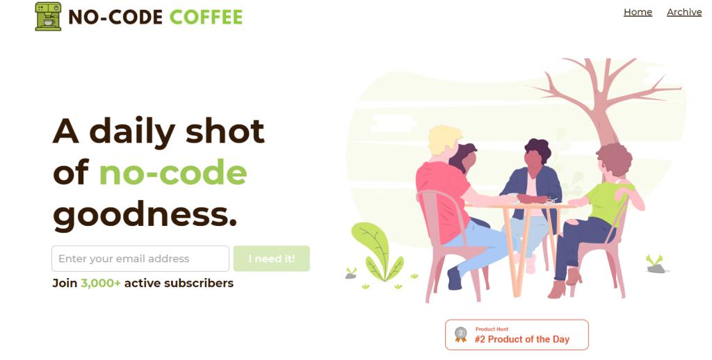 Nocode coffee_no-code community
