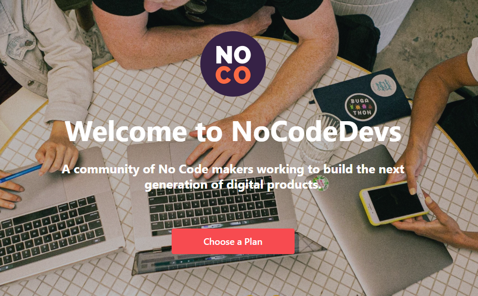 nocode devs_no-code community