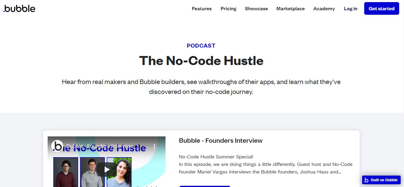 No-Code Hustle podcast