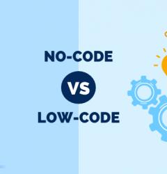 No-code vs. Low-code