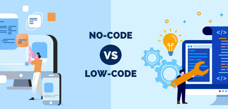 No-code vs. Low-code