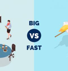 big vs fast companies