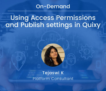 webinar access permissions and publish settings