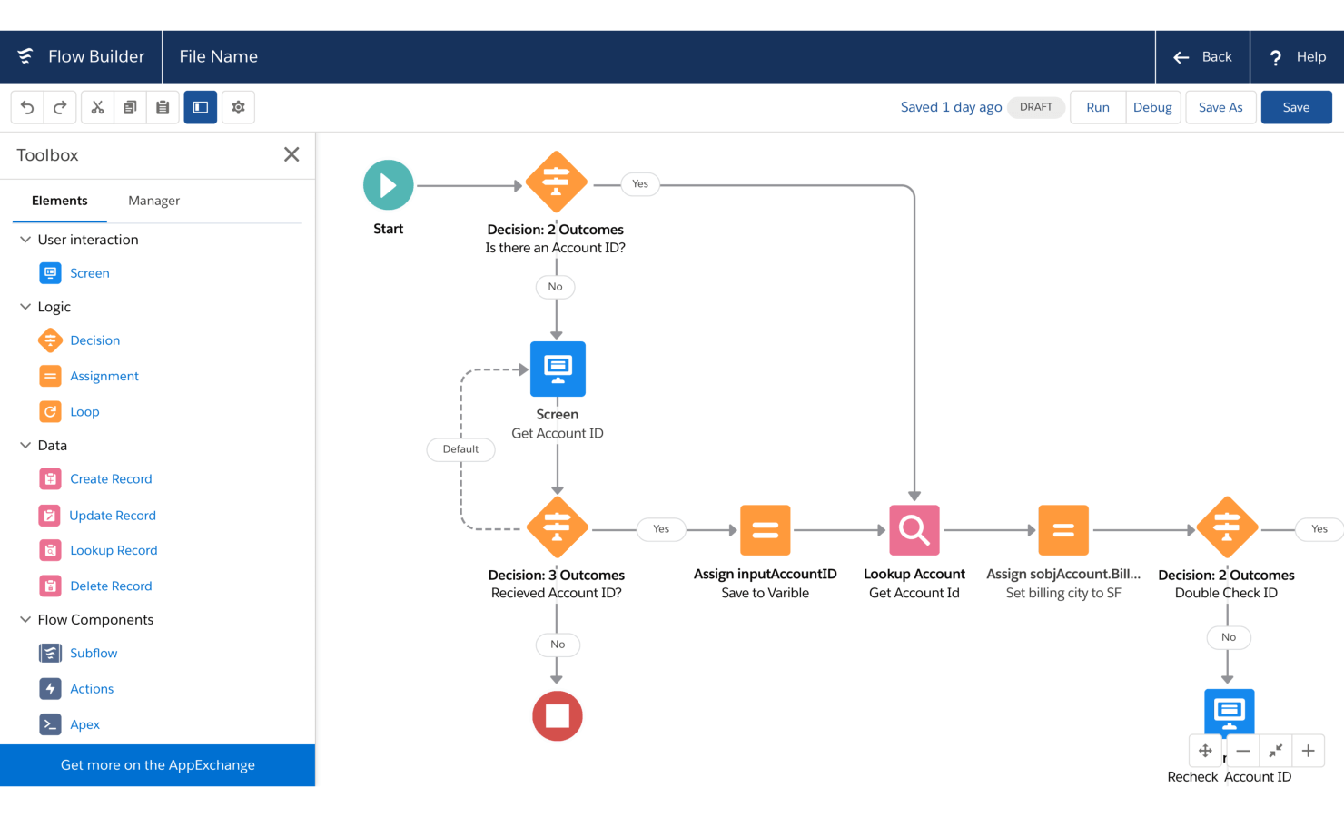 salesforce workflow ss - The Top 10 Digital Process Automation (DPA) Tools