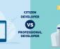 citizen developer vs professional developer