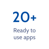 20+ ready to use apps