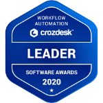 Crozdesk Workflow automation leader