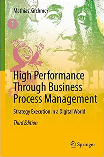 High Performance Through Business Process Management