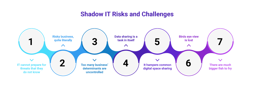 Shadow IT risks and challenges