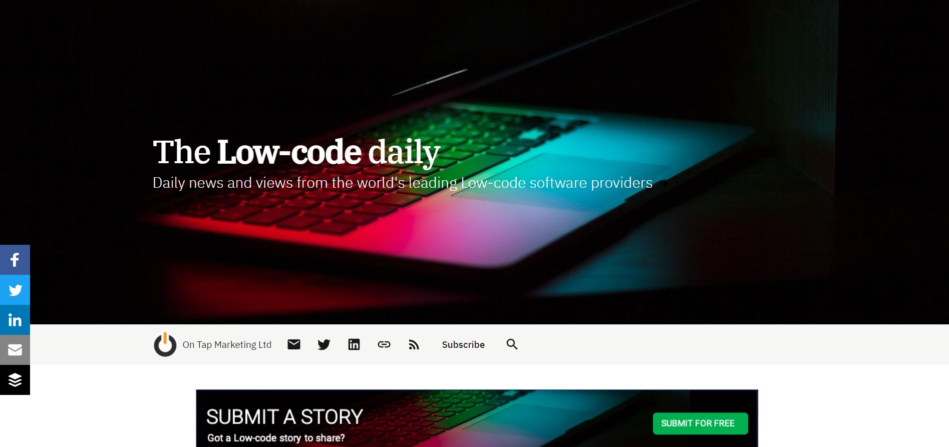 The low-code daily