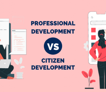 Professional development vs citizen development