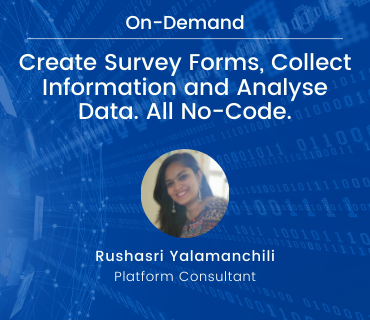 On-Demand Webinar Survey Forms