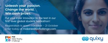 PMI Hackathon Banner