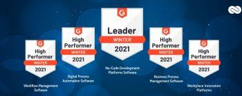 Quixy named leader no-code